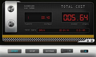 Screenshot of Greek Taxi Meter Pro