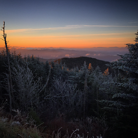 Clingman's Dome Sunrise by Chuck Hagan - Instagram & Mobile iPhone