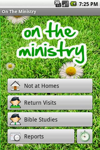 On The Ministry