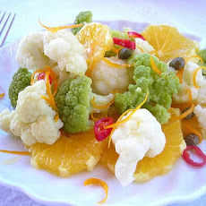 Spicy Cauliflower & Citrus Side Dish from your Pressure Cooker (or not)