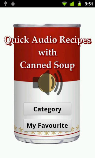 Canned Soup Audio Recipes Lite