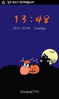 Screenshot of Pepe-halloween Go locker theme