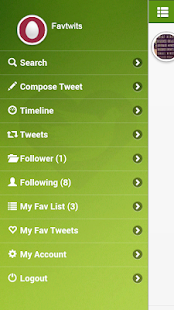 FavTwits for Twitter - screenshot
