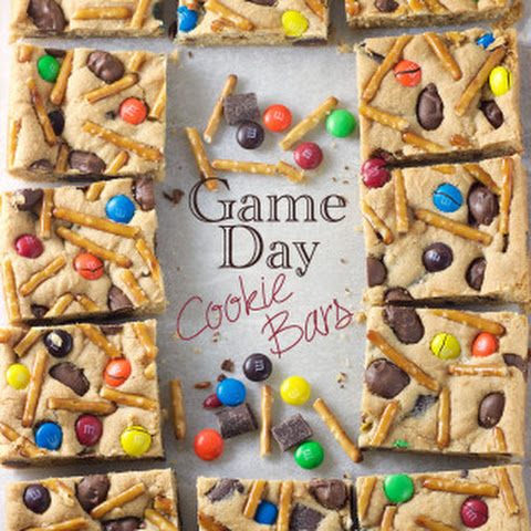 Game Day Cookie Bars