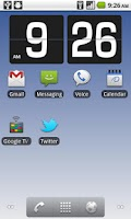 Screenshot of Flip Clock 3D - Live Wallpaper
