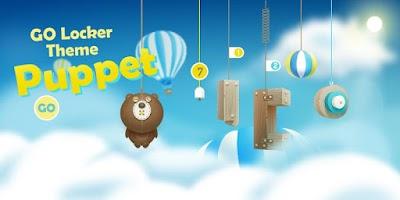 Screenshot of Puppet GO Locker Theme