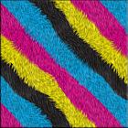 Colorful Fur Keyboard Skin icon