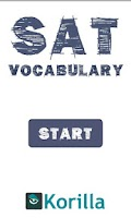 Screenshot of SAT Vocabulary