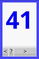 Screenshot of Numbers 50