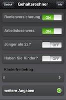 Screenshot of Brutto Netto Rechner 2012