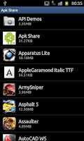 Screenshot of Apk Share & Backup