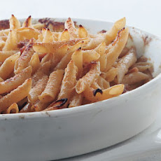Penne with Parmesan Cream and Prosciutto