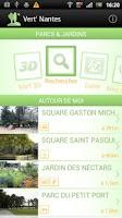 Screenshot of Vert' Nantes - Parcs & Jardins