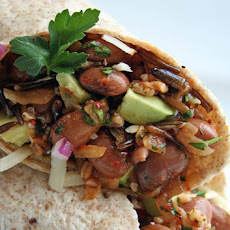 Pinto Bean, Quinoa, and Wild Rice Wrap Recipe