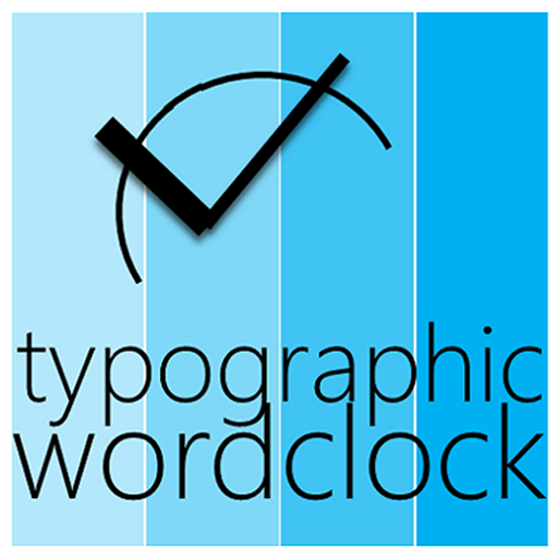 Typographic Word Clock LOGO-APP點子