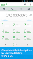 Screenshot of textPlus Gold Free Text+Calls