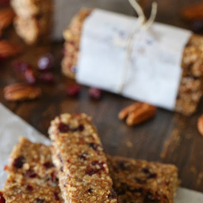 Maple Cranberry Morning Bars