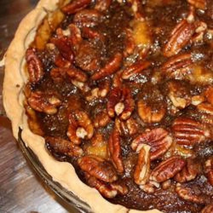 Caramel-Pecan Pumpkin Pie