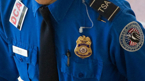 A US Transportation Security Administrat
