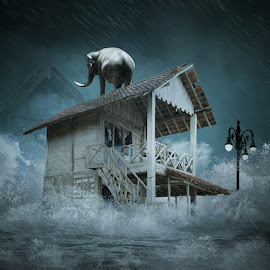 Tsunami by Alfa Oldicius - Digital Art Things