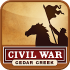 Cedar Creek Battle App icon