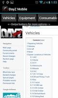 Screenshot of DayZ Mobile