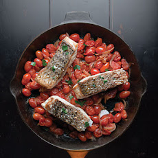 Quick Fish Fillets in Tomato Sauce