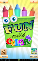 Screenshot of Fun with Colors Free