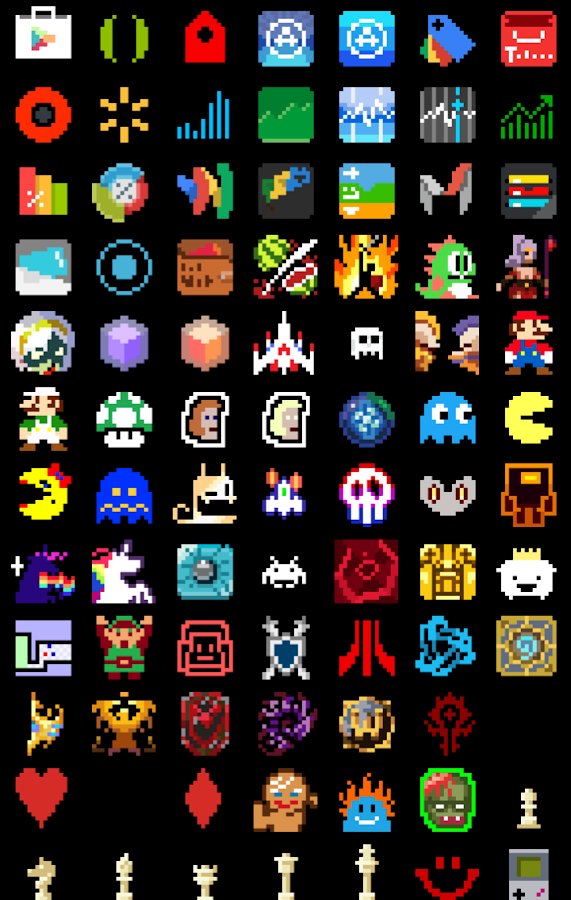 8-BIT Icon Theme Screenshot 5