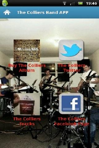The Colliers Band APP