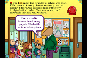 Screenshot of Arthur's Teacher Trouble