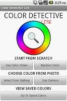 Screenshot of Color Detective Lite
