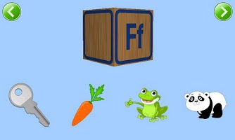 Screenshot of Kids ABC Phonics Lite