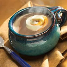 Caramel Cream Swirl Hot Chocolate