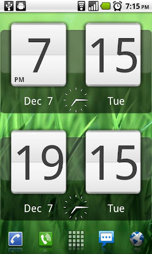 Sense Analog Clock Widget