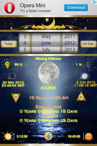 Hijri Calendar Mini