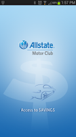 Screenshot of Allstate Access to Savings
