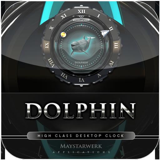 美麗的海豚時鐘 娛樂 App LOGO-硬是要APP