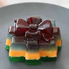 Three-Layer Gelatin Salad