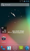 Screenshot of Alarm Notify