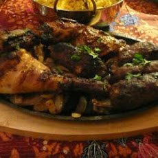 BBQ tandoori chicken