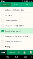 Screenshot of Gaaiho PDF Reader