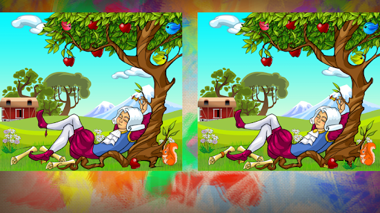Spot Differences Game - screenshot