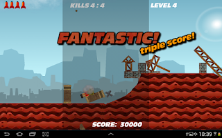 Screenshot of Flappy Rocket