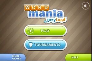 Screenshot of WordMania