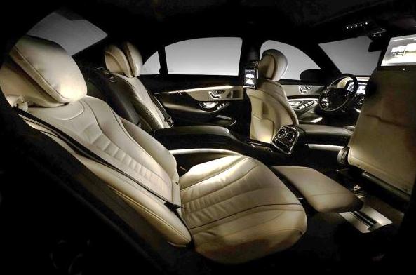 Mercedes S Class Luxury Interior