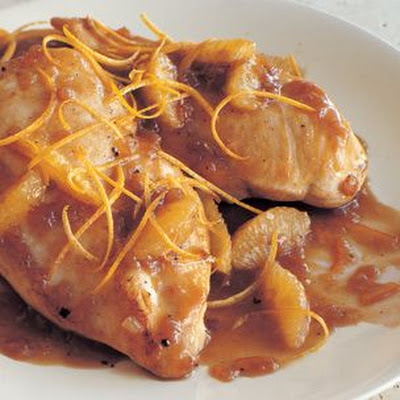 Sautéed Chicken Breasts with Bitter Orange Sauce