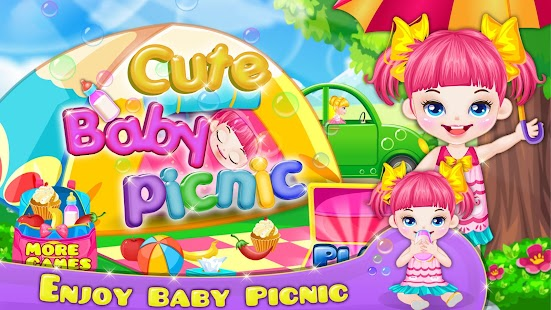 Cute Baby Picnic - screenshot