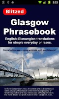 Screenshot of Glasgow Phrasebook LITE