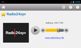 Screenshot of Dansk Radio (Denmark)